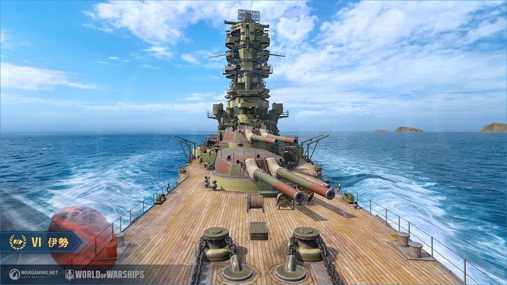 World of Warships(ワールドオブウォーシップス)WoWs 主砲スクリーンショット