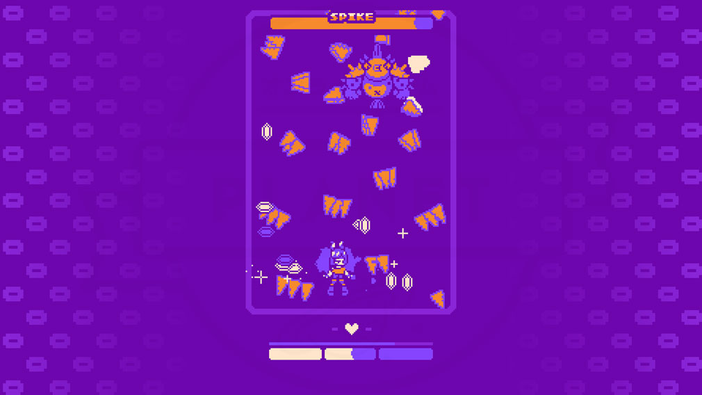 Super Glitter Rush(スーパーグリッターラッシュ) レトロで可愛い2Dドットのバトルスクリーンショット