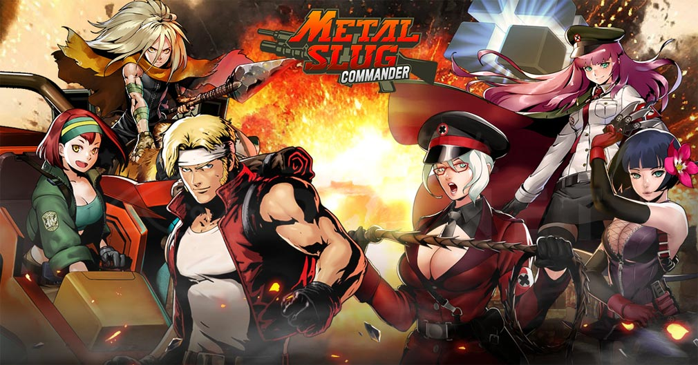 Metal Slug Commander(メタルスラッグコマンダー) キービジュアル