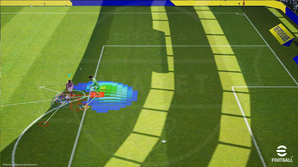 eFootball 実のサッカーの攻防を徹底的に分析できるスクリーンショット