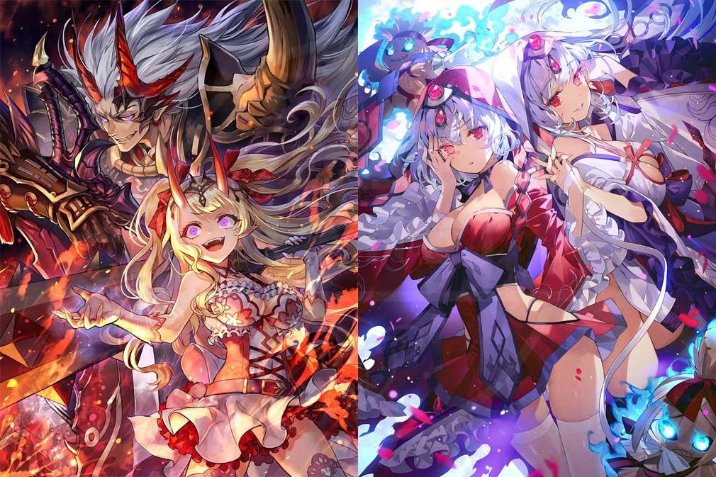 ラグナドール 妖しき皇帝と終焉の夜叉姫(ラグナド) ヒト型進化した妖怪キャラクター紹介イメージ