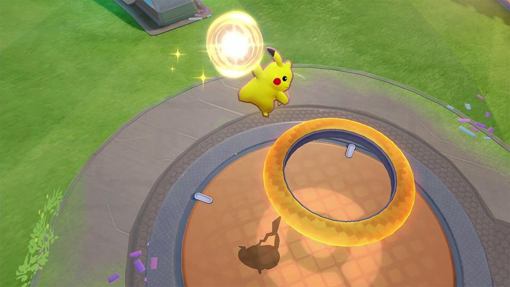 ポケモンユナイト(Pokémon UNITE) 『エオスエナジー』をゴールに入れるスクリーンショット