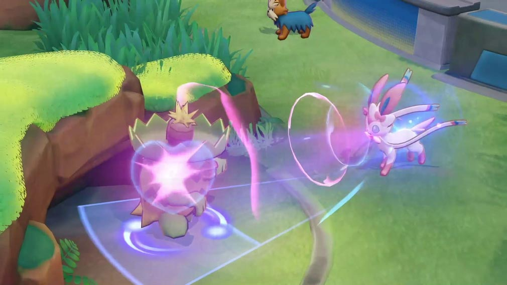 ポケモンユナイト(Pokémon UNITE) 『ニンフィア』スクリーンショット