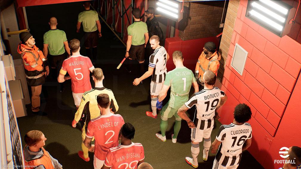 eFootball 新サッカーゲームエンジンを搭載したアニメスクリーンショット