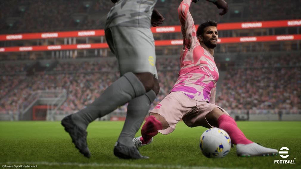 eFootball これまでのサッカープレイが変わる試合が面白いスクリーンショット