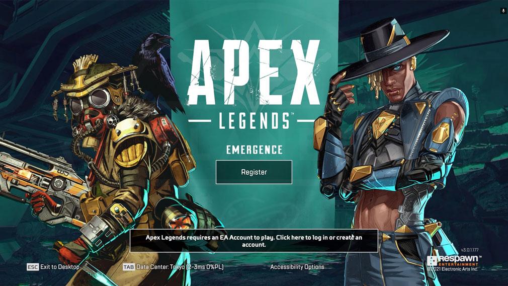 GeForce NOW Powered by SoftBank PCアプリ版「Apex Legends」プレイスクリーンショット