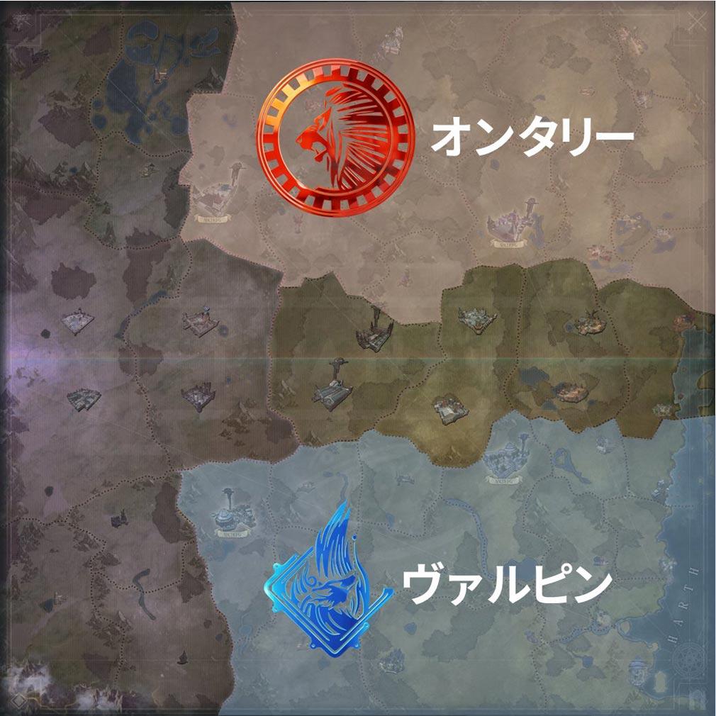 ELYON(エリオン) 『ワールドマップ』紹介イメージ