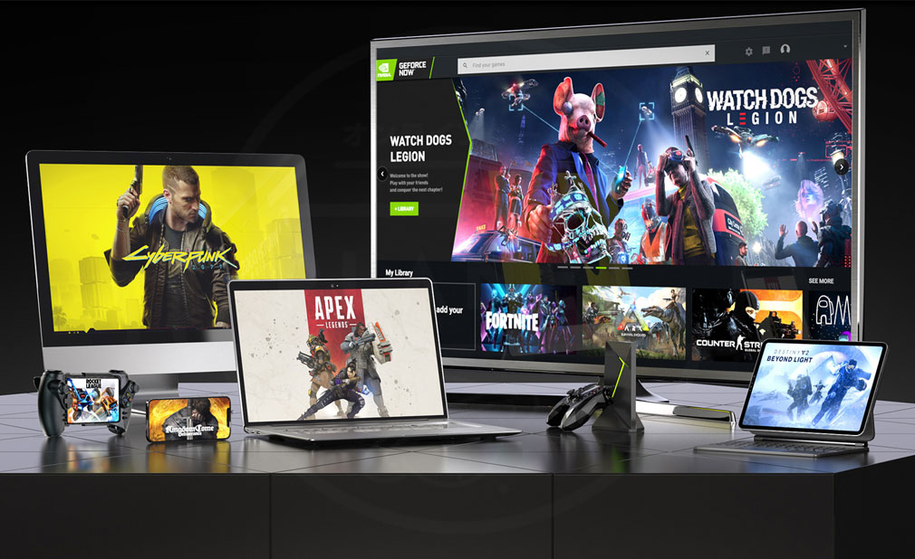 GeForce NOW Powered by SoftBank 様々な『デバイス』でプレイできるスクリーンショット
