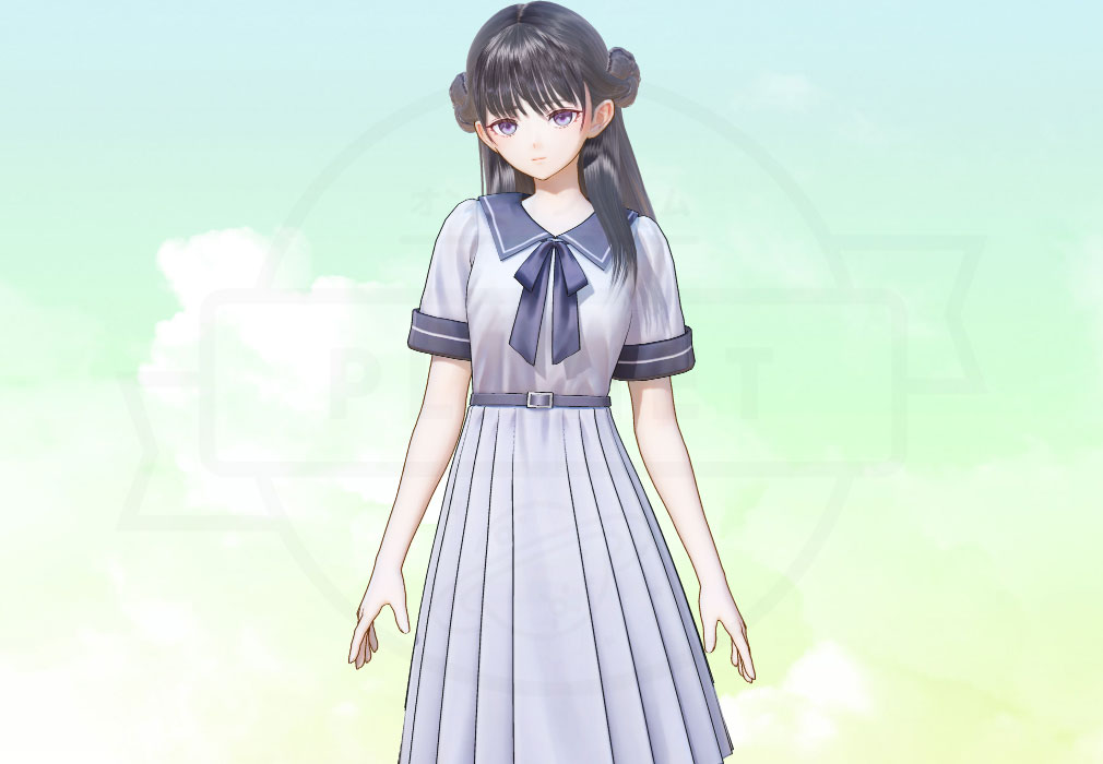 BLUE REFLECTION TIE ブルーリフレクション 帝(ブルリフT) キャラクター『平原 美弦』紹介イメージ