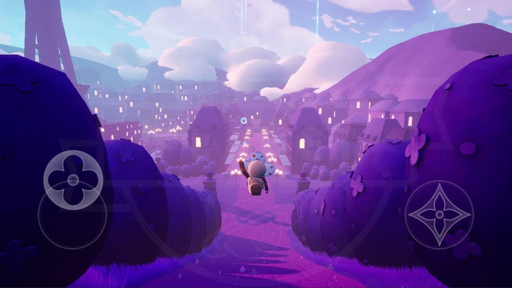 LOUIS THE GAME ゲーム上に表示されているゲームパッドスクリーンショット