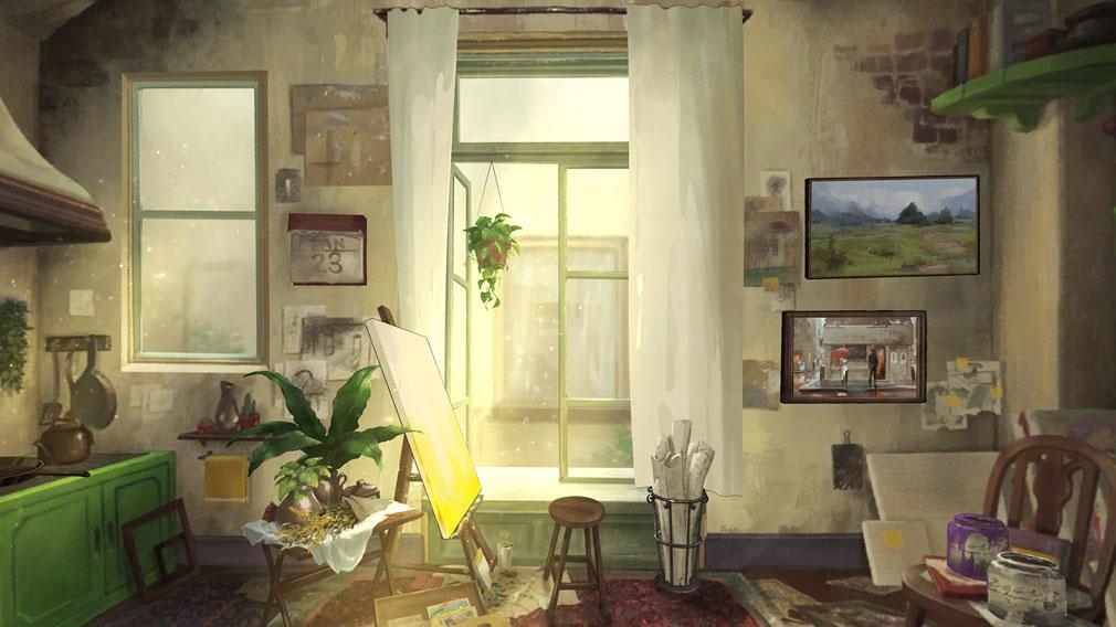 Behind the Frame とっておきの景色を セル画風の世界スクリーンショット