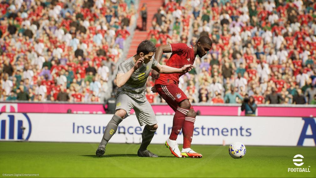 eFootball 身体を使って相手を止めるスクリーンショット