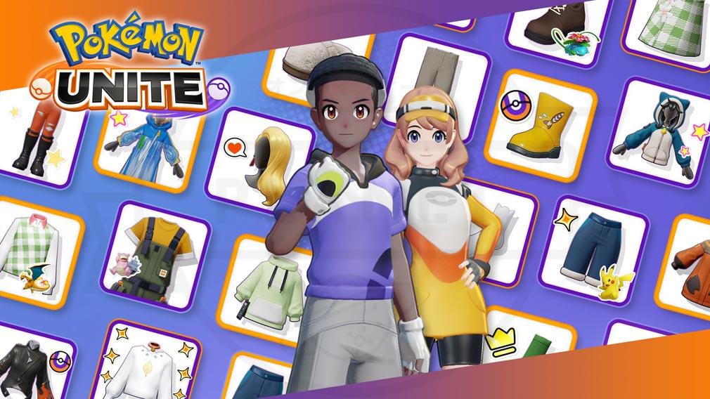 ポケモンユナイト(Pokémon UNITE) 『トレーナー着せ替え』紹介イメージ