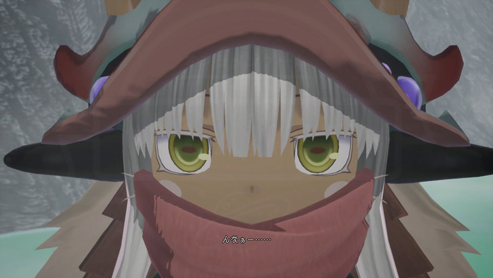 メイドインアビス 闇を目指した連星 ゲームに登場する3D『ナナチ』スクリーンショット