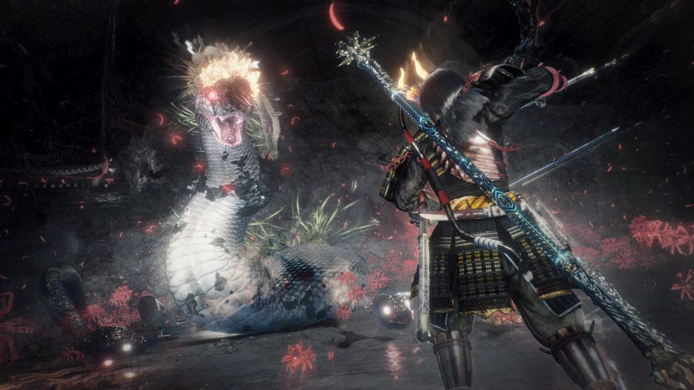 仁王2 Complete Edition 様々な『武器』を駆使するバトルスクリーンショット
