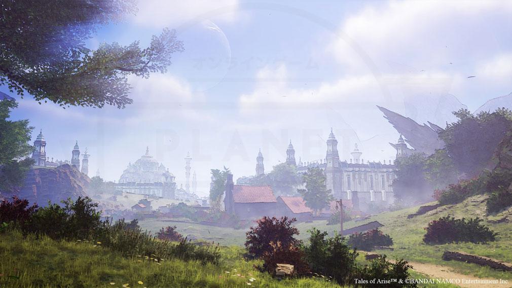 Tales of ARISE(テイルズ オブ アライズ) 心地よい風が駆け抜け、美しい緑が溢れる豊穣の国『エリデ・メナンシア』スクリーンショット