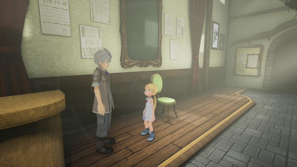 メイドインアビス 闇を目指した連星 3Dで表現されたスクリーンショット