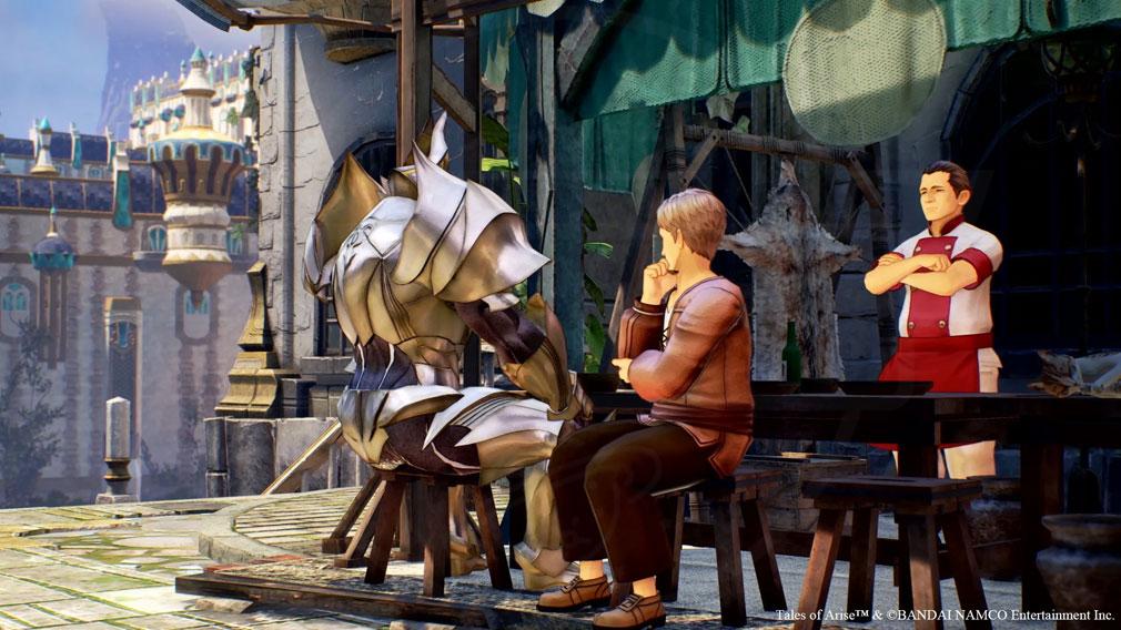 Tales of ARISE(テイルズ オブ アライズ) ダナ人もレナ人も分け隔てなく生活を共にするエリア『エリデ・メナンシア』スクリーンショット