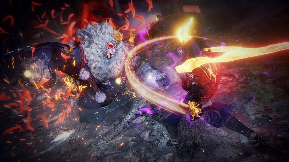 仁王2 Complete Edition 『猛』の守護霊を宿した者が使える特技スクリーンショット