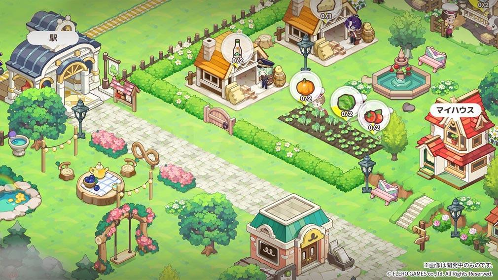 夢みるクローバータウン(夢クロ) 町を作り上げる紹介イメージ