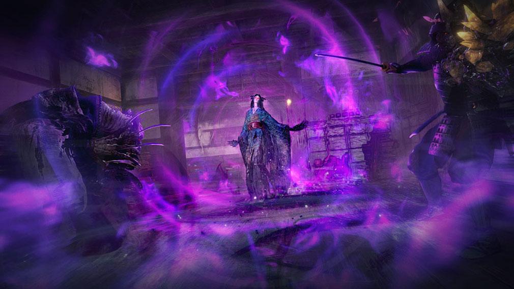 仁王2 Complete Edition 敵の妖怪の技を使うことができる『妖怪技』スクリーンショット