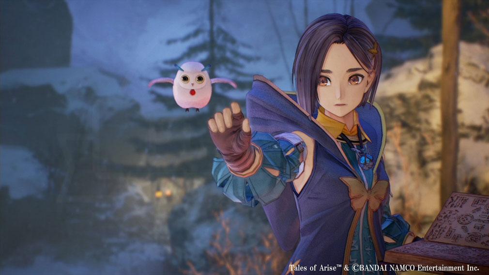 Tales of ARISE(テイルズ オブ アライズ) ダナ人でありながら星霊術を使うことができるキャラクター『リンウェル』スクリーンショット