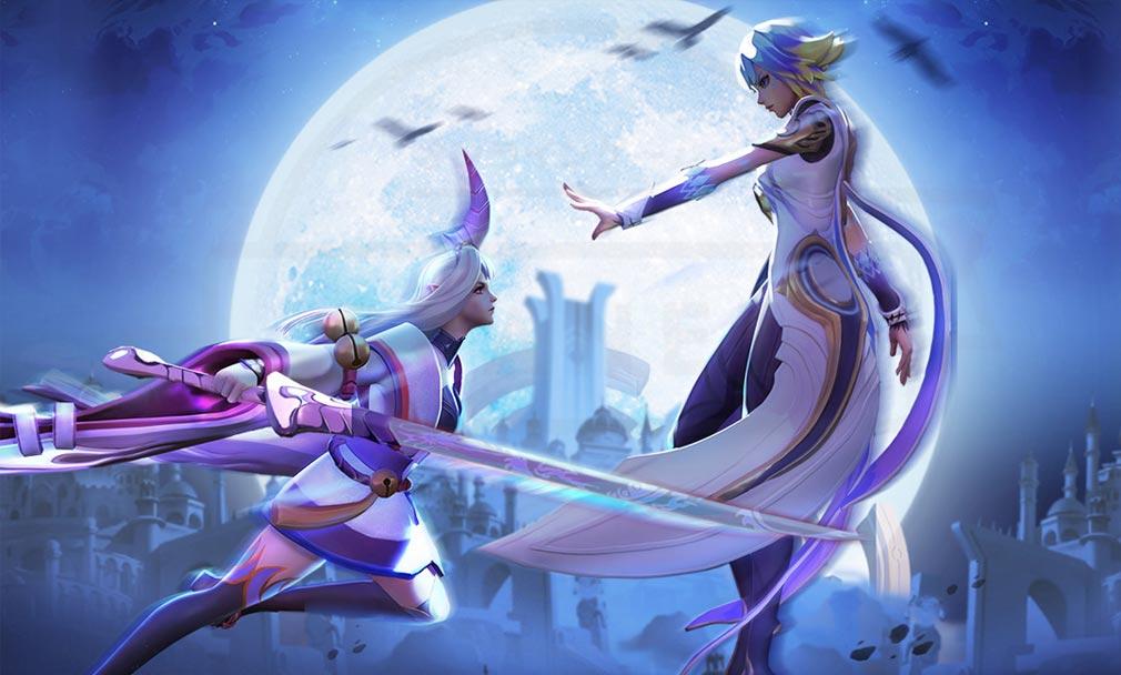 ラピスクロニクル 英雄王冠(ラピクル) 剣と魔法そして近未来の世界を融合したファンタジー世界紹介イメージ