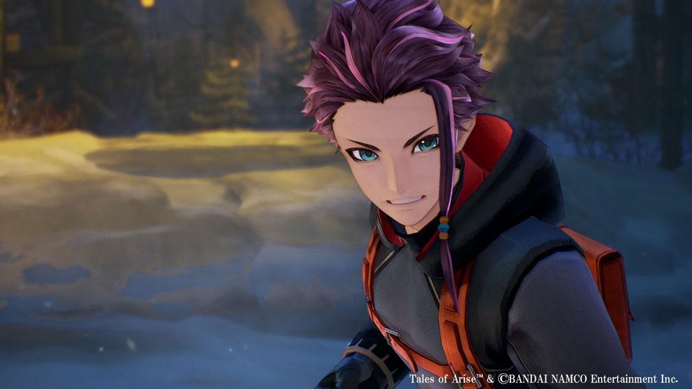 Tales of ARISE(テイルズ オブ アライズ) 被弾することなく攻撃を当て続けると超集中状態になるキャラクター『ロウ』スクリーンショット