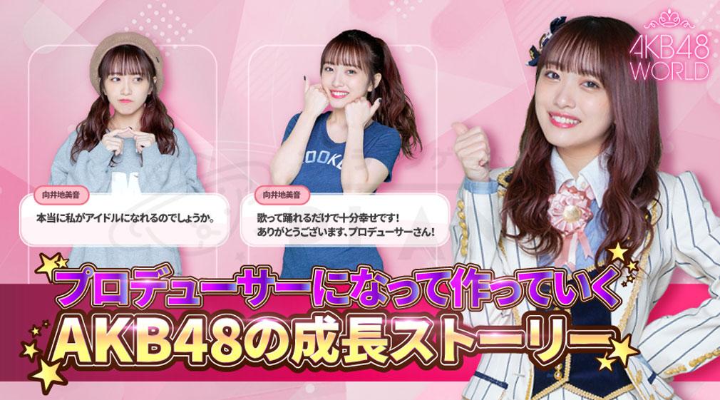 AKB48 WORLD ストーリー紹介イメージ