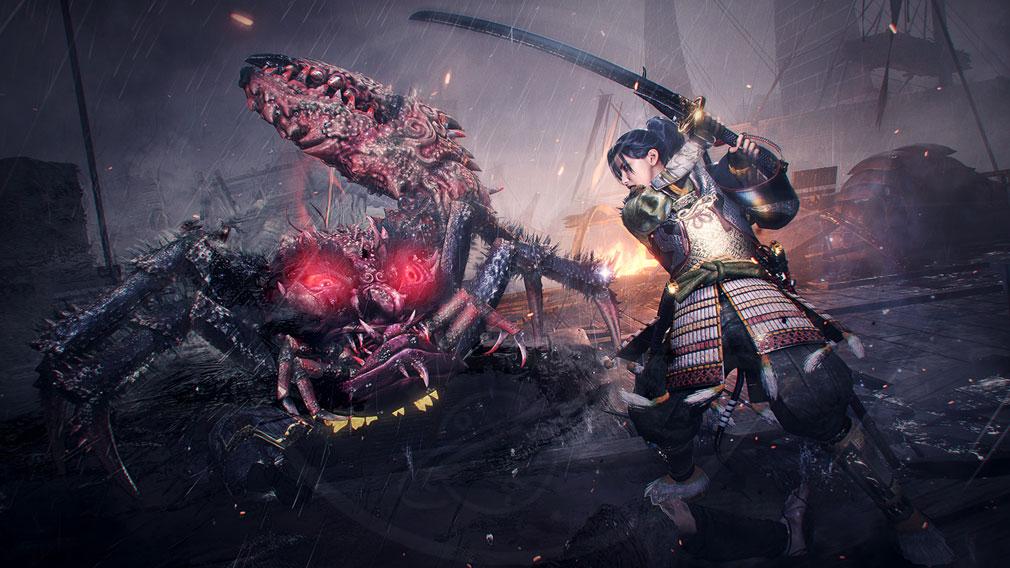 仁王2 Complete Edition 妖怪化しないで戦うバトルスクリーンショット