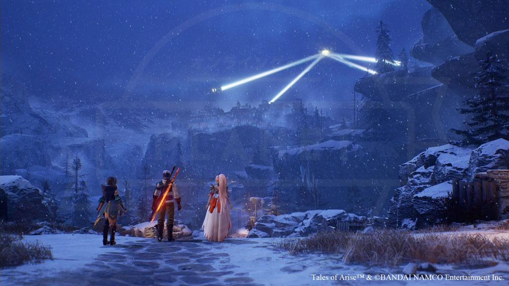 Tales of ARISE(テイルズ オブ アライズ) 『シスロディア』の街に到着したスクリーンショット
