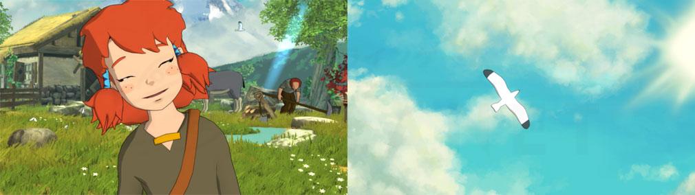 Baldo The Guardian Owls(バルド) 柔らかく可愛いファンタジー世界スクリーンショット