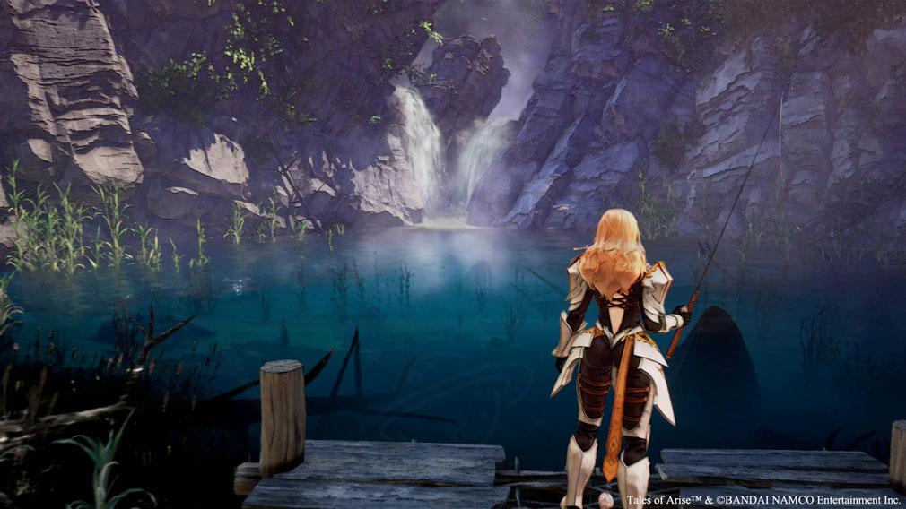 Tales of ARISE(テイルズ オブ アライズ) 『釣り』スクリーンショット