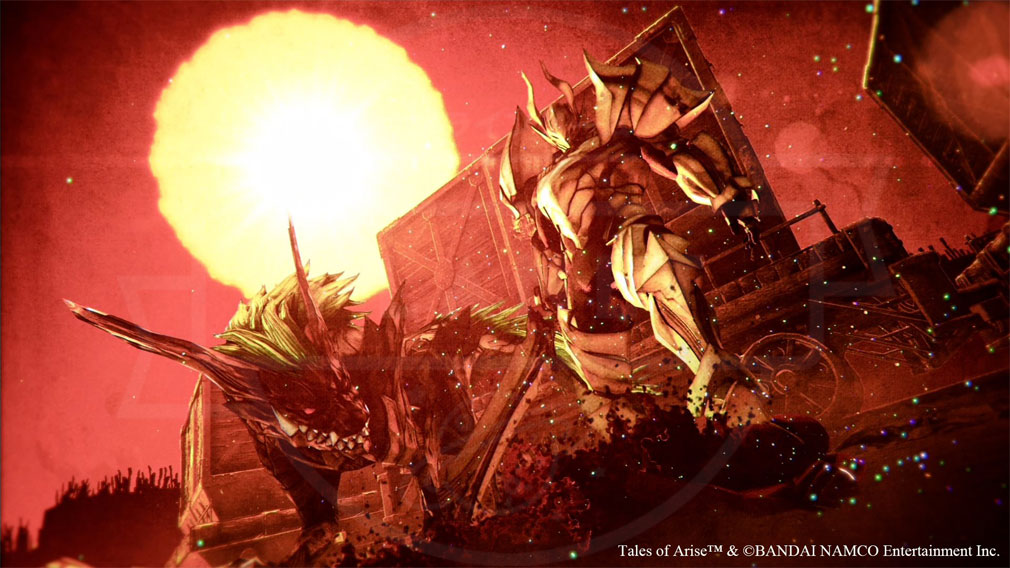 Tales of ARISE(テイルズ オブ アライズ) エリア『ダナ』スクリーンショット