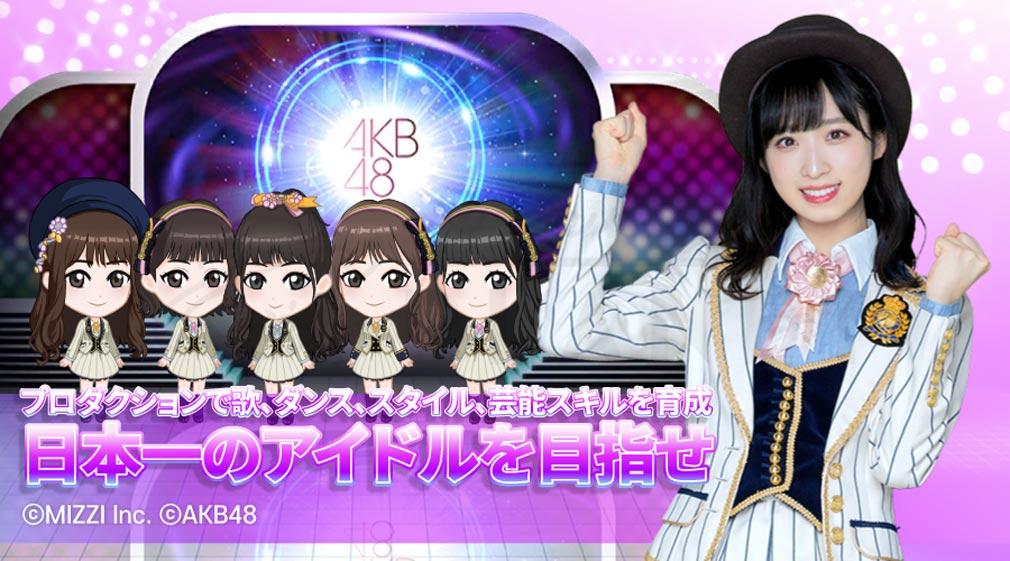 AKB48 WORLD 日本一のアイドルを目指す紹介イメージ