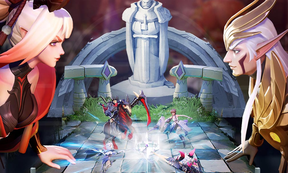 ラピスクロニクル 英雄王冠(ラピクル) 様々な時代紹介イメージ