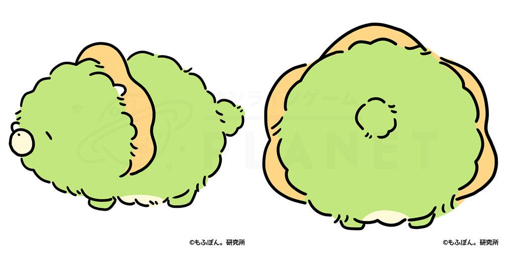 もふぽん。まんまる島のたまごまつり。 キャラクター『とりけら!?』横後紹介イメージ