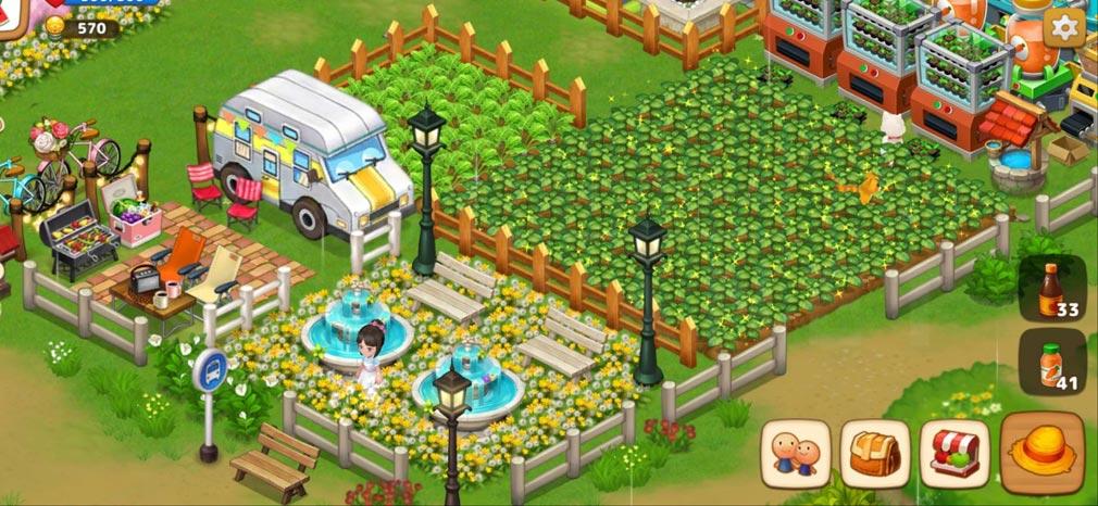 リアルファーム 農場デコレーションスクリーンショット