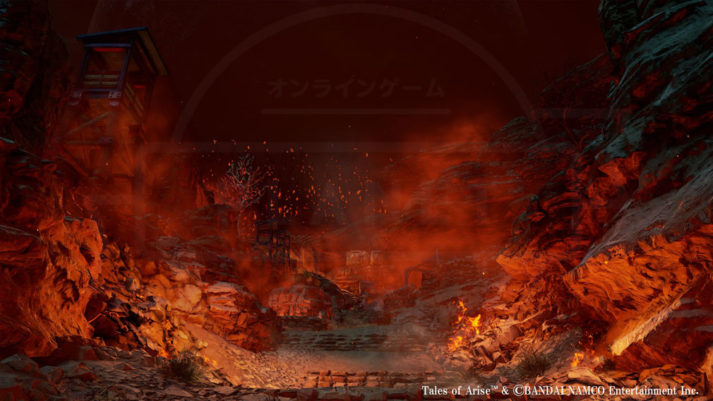 Tales of ARISE(テイルズ オブ アライズ) 劫火と灰渦巻く国『オルブス・カラグリア』スクリーンショット