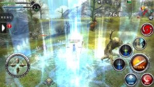 RPGアヴァベルオンライン -絆の塔- スキルエモーション演出1