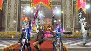 RPGアヴァベルオンライン -絆の塔- 仲間とお揃いコーデ