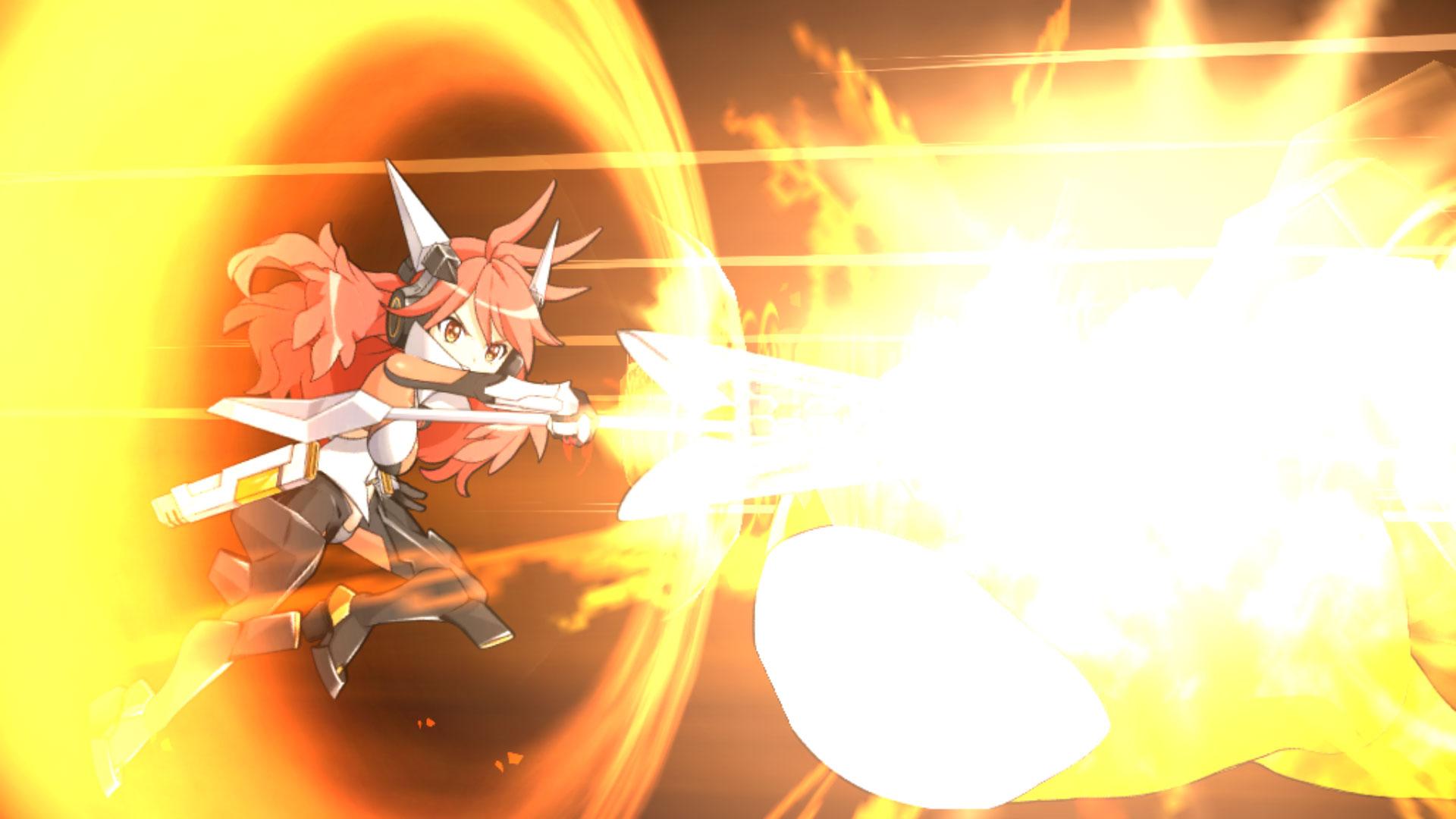 シンフォギアxd 炎を出すバトルシーンアニメ