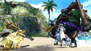 RPGアヴァベルオンライン -絆の塔- モンスターとのバトル