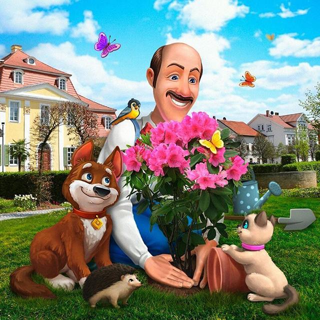 ガーデンスケイプ (Gardenscapes) 執事のオースティンは親しみやすいキャラクター