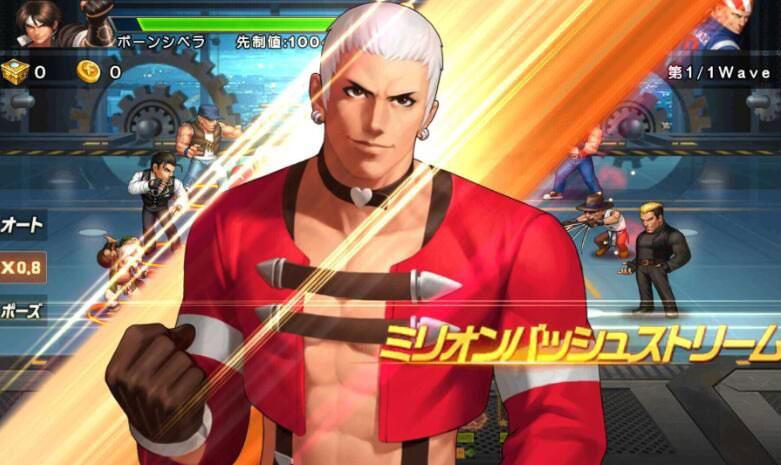 THE KING OF FIGHTERS '98UM OL(KOF'98 UM OL) 画面タップでコンボを繋げていけるバトルシステム