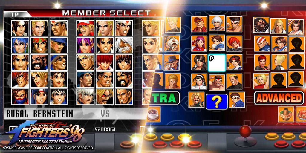 THE KING OF FIGHTERS '98UM OL(KOF'98 UM OL) 懐かしのキャラクターからチームを編成