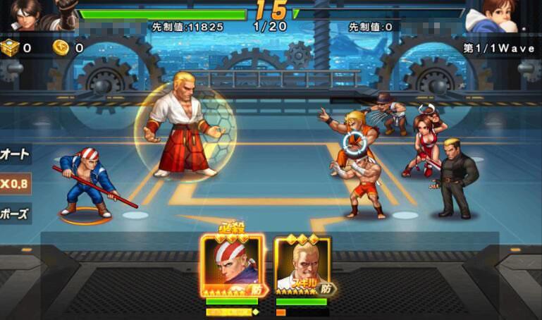 THE KING OF FIGHTERS '98UM OL(KOF'98 UM OL) 戦闘中の条件によってキャラクターの性能が変わる