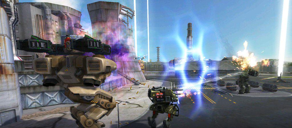 War Robots(WR) 【軽/中/重】と特徴の違うロボット