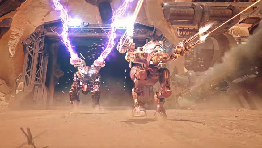 War Robots(WR) 戦闘対象は世界中のプレイヤー