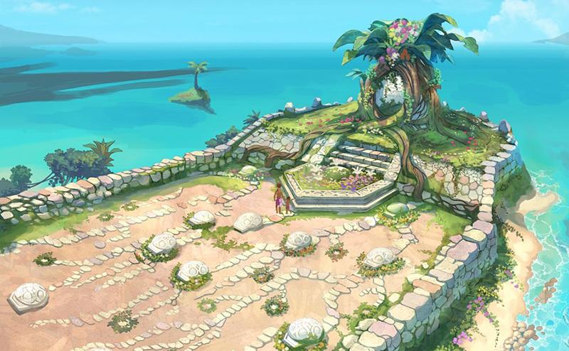 アルケミアストーリー(アルスト) フィールドマップの様子4
